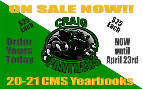 CMS Yearbooks for Sale